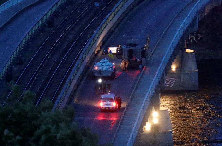 Incidentas ant tilto Kijeve