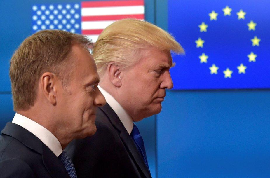 Donaldo Trumpo susitikimas su ES viršūnėmis