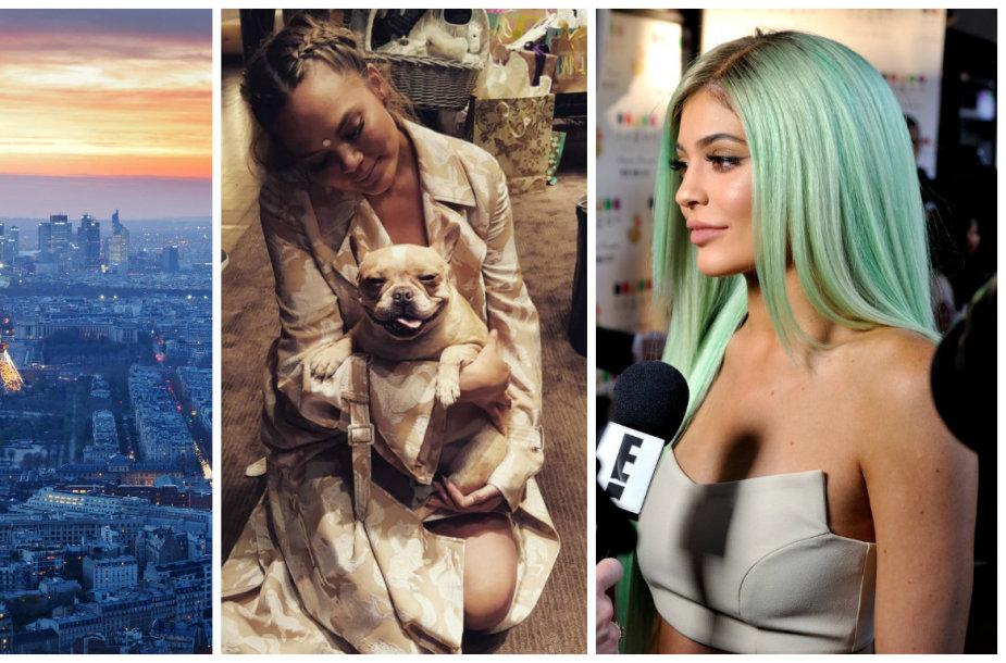 """Seksualiausi pagal """"Victoria's Secret"""": seksualiausias miestas Paryžius, augintinis ir stiliaus eksperimentatorė Kylie Jenner"""
