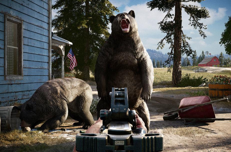 """Far Cry 5"" žaidimo kadras"