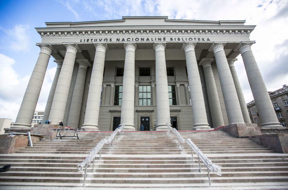 Po aštuonerius metus trukusios rekonstrukcijos duris praveria Lietuvos nacionalinė biblioteka