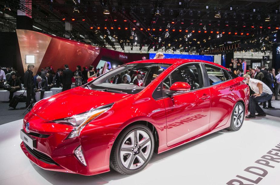 """Toyota"" stendas Frankfurto automobilių parodoje"