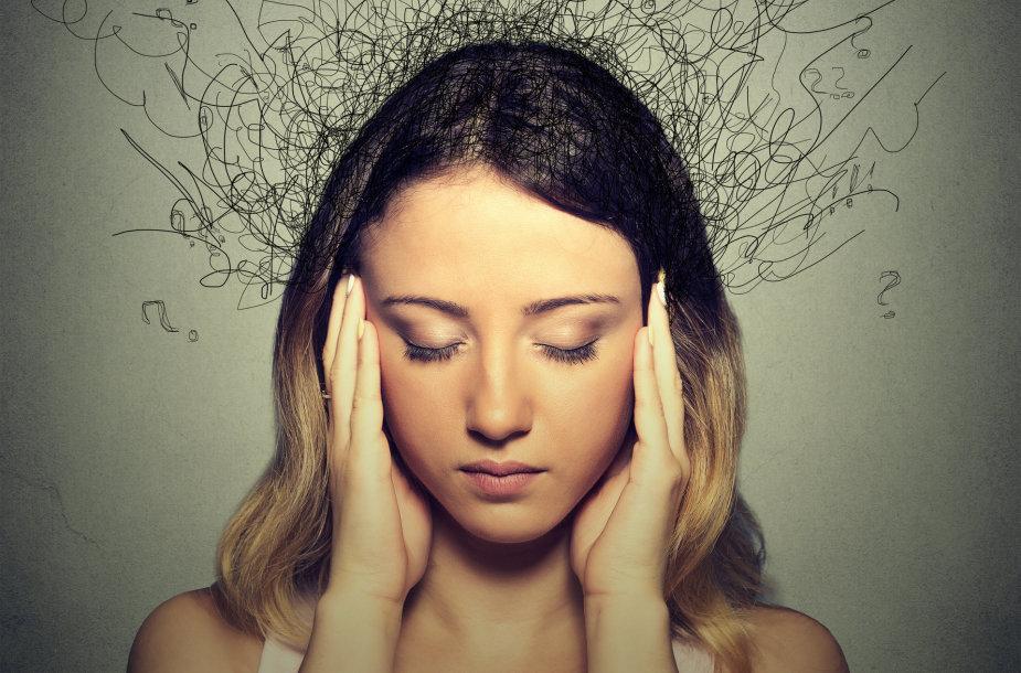 Įtampa, stresas ir nerimas vargina vis daugiau žmonių