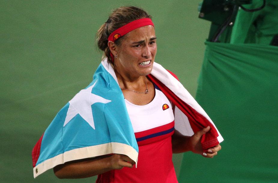 Monica Puig Puerto Rikui padovanojo pirmą olimpinį auksą