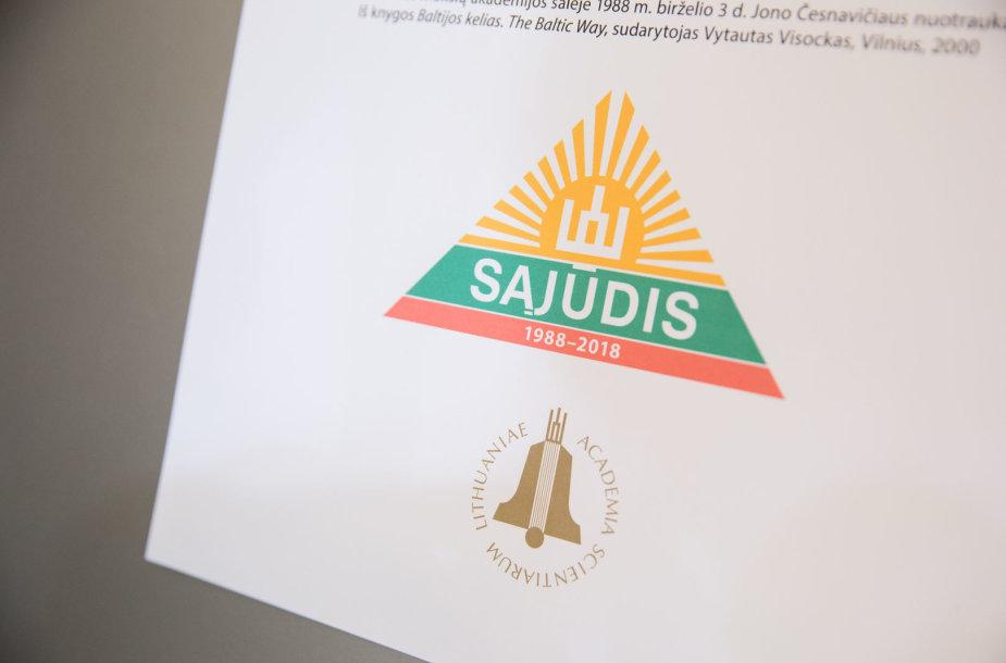 """""""Su Sąjūdžio idėjomis už Lietuvą"""" akimirka"""