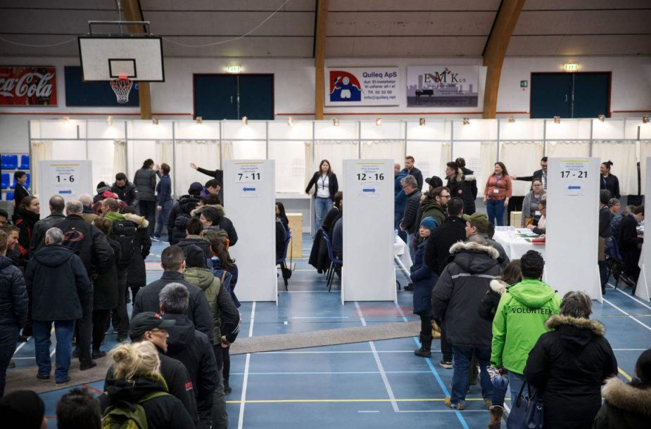 Rinkimai Grenlandijoje