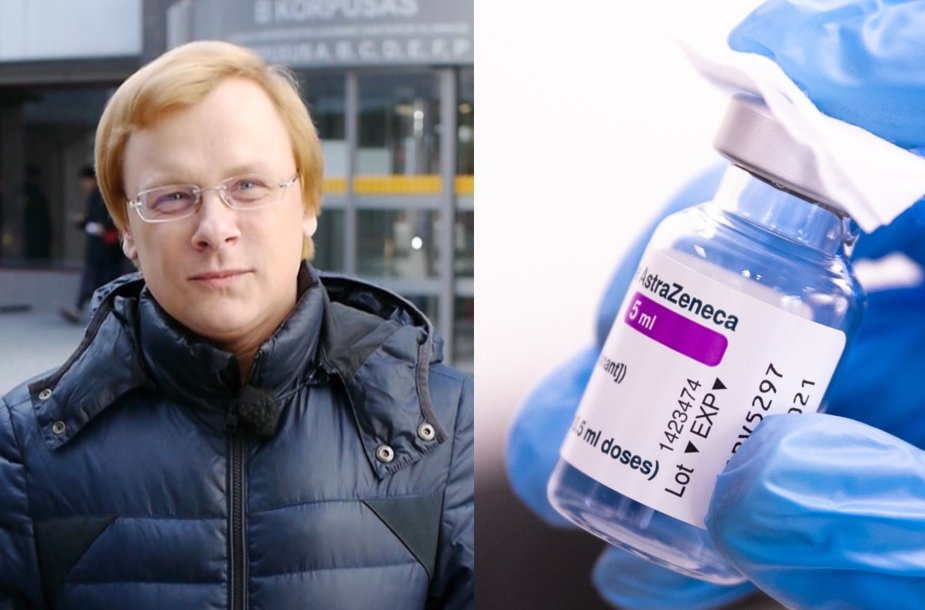 "Marius Strioga, ""AstraZeneca"" vakcina"