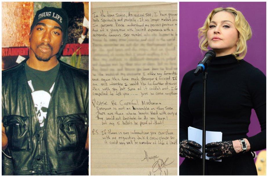 Parduodamas Tupaco meilės laiškas Madonna