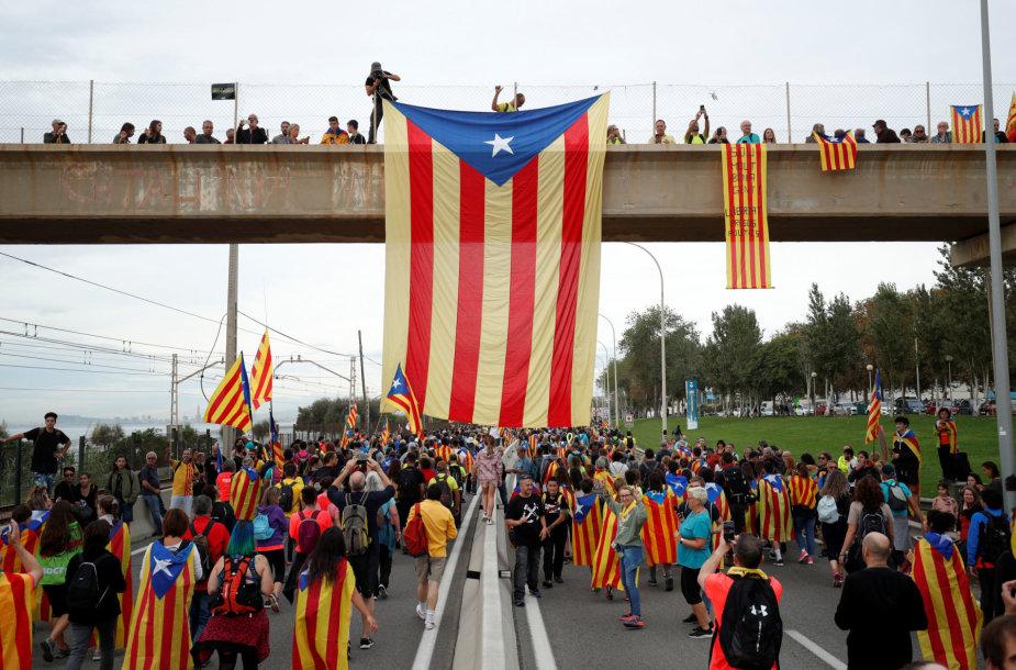 Katalonijos nepriklausomybės šalininkai