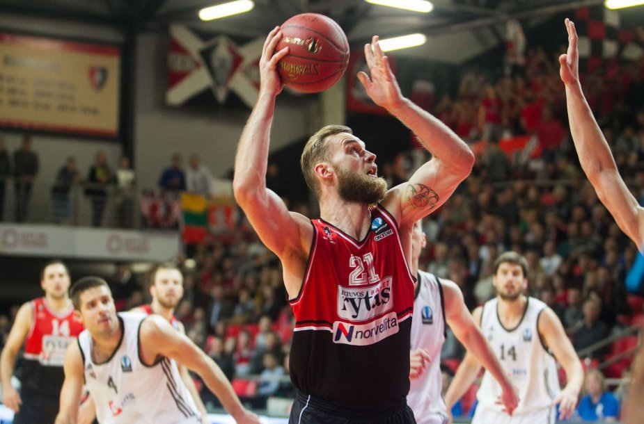 """Vilniaus """"Lietuvos rytas"""" – Belgrado """"Partizan"""""""