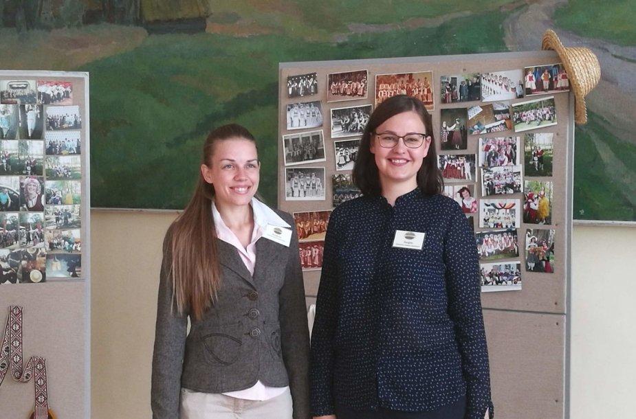 Marija Urbonienė ir  Jurgita Valčikaitė