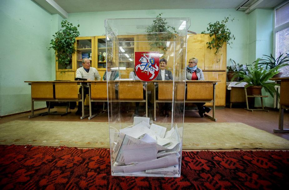 Rinkimai Varėnoje ir Senojoje Varėnoje