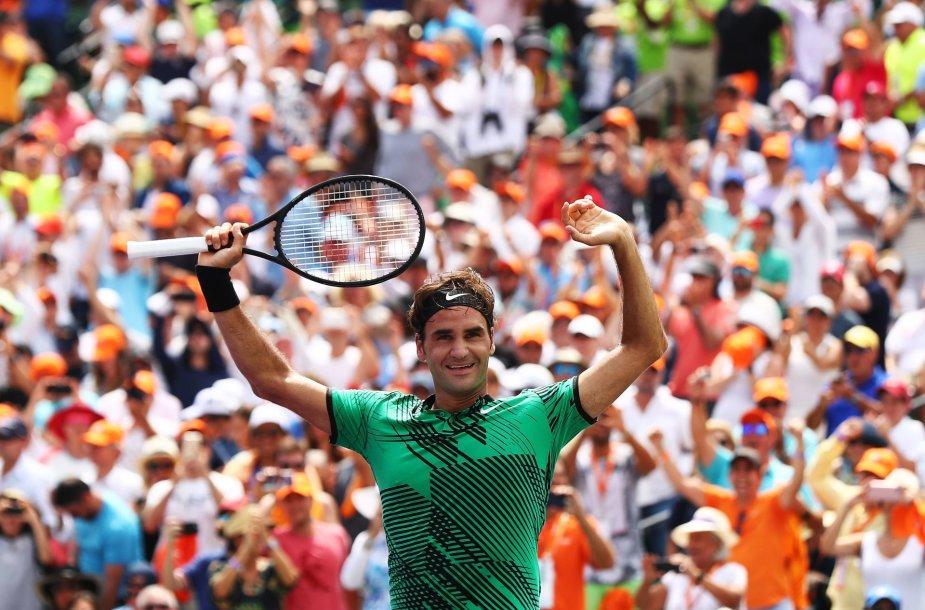 Rogeris Federeris prieš Rafaelį Nadalį