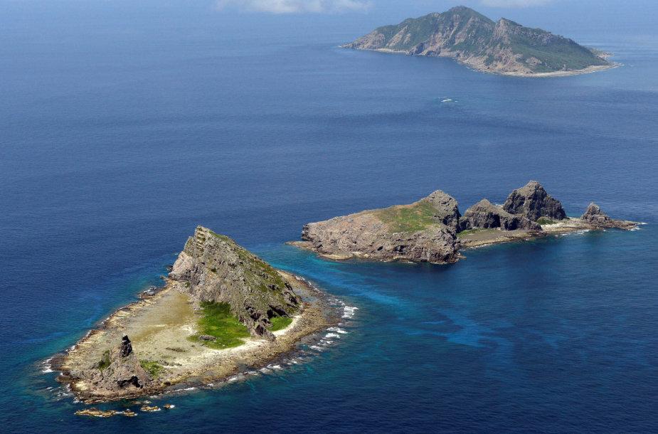 Ginčijamos Senkaku (Diaoju) salos