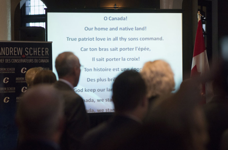 Kanados himno žodžiai