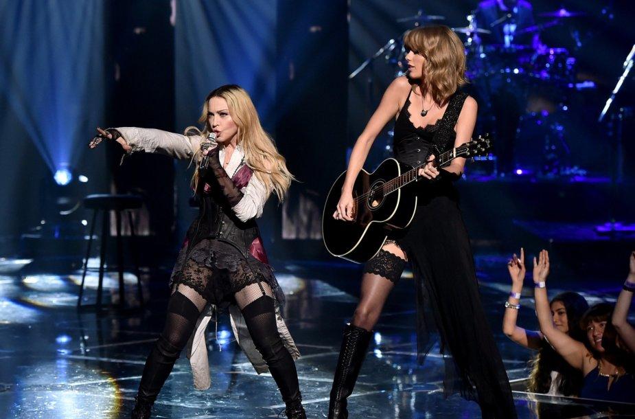 Madonna ir Taylor Swift