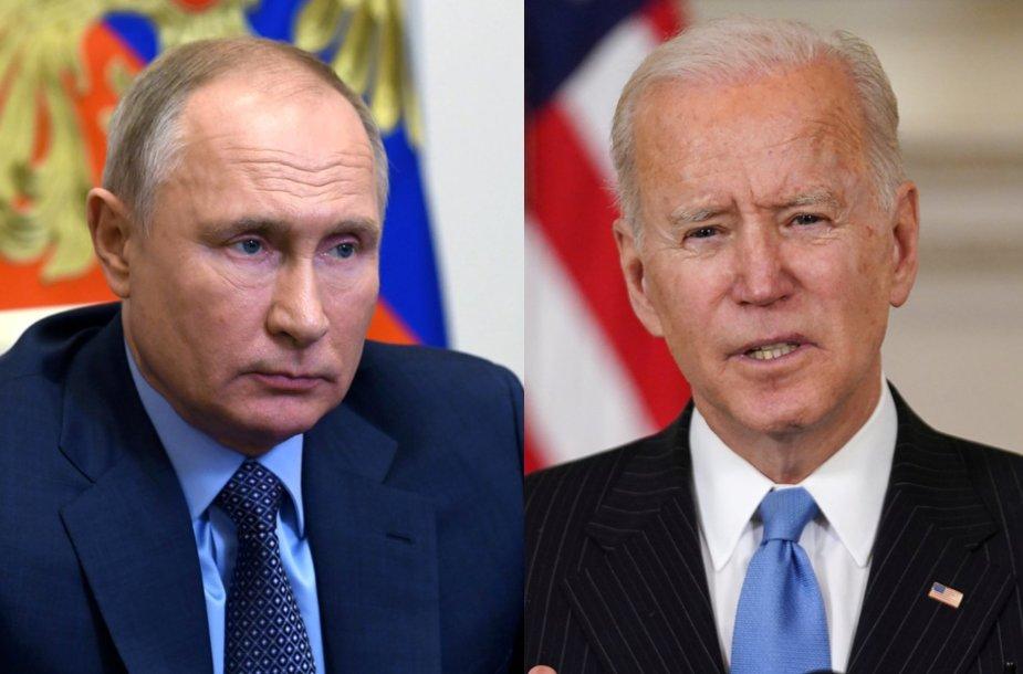 Vladimiras Putinas, Joe Bidenas