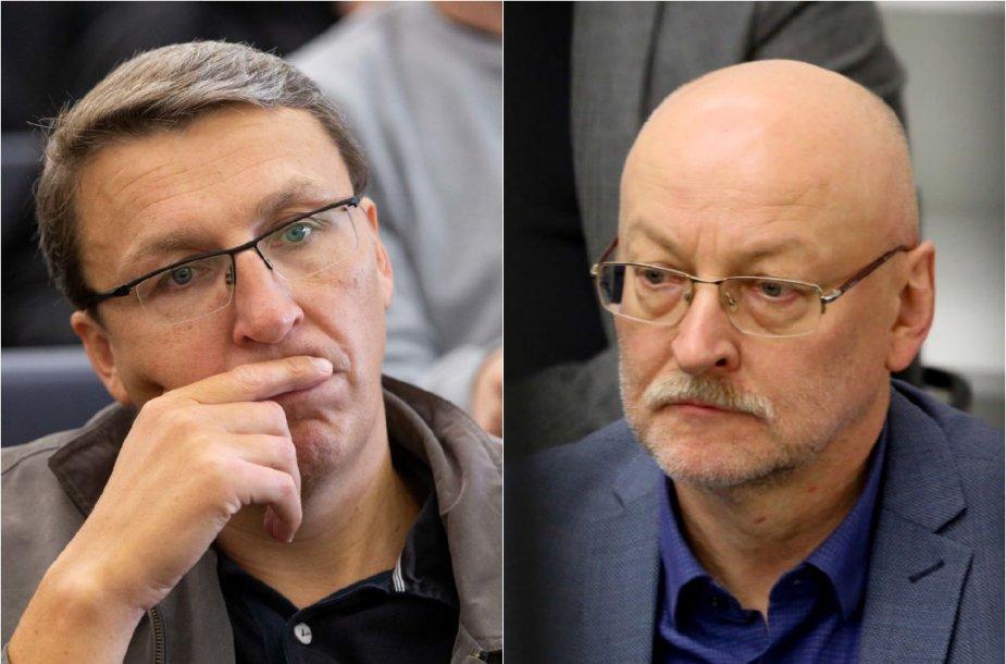 Vytautas Bruveris ir Rimvydas Valatka