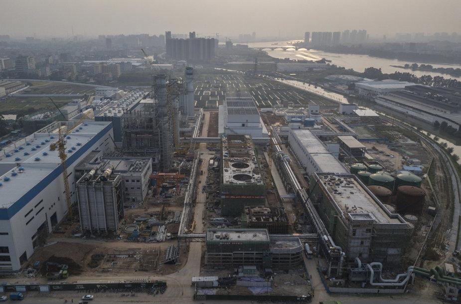 Jėgainė Kinijoje