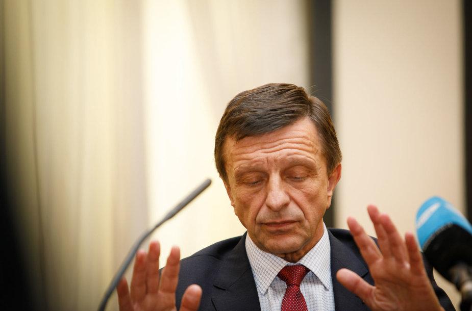 Petro Baršausko spaudos konferencija