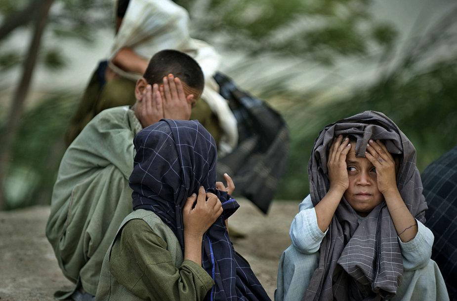 Vaikai Afganistane