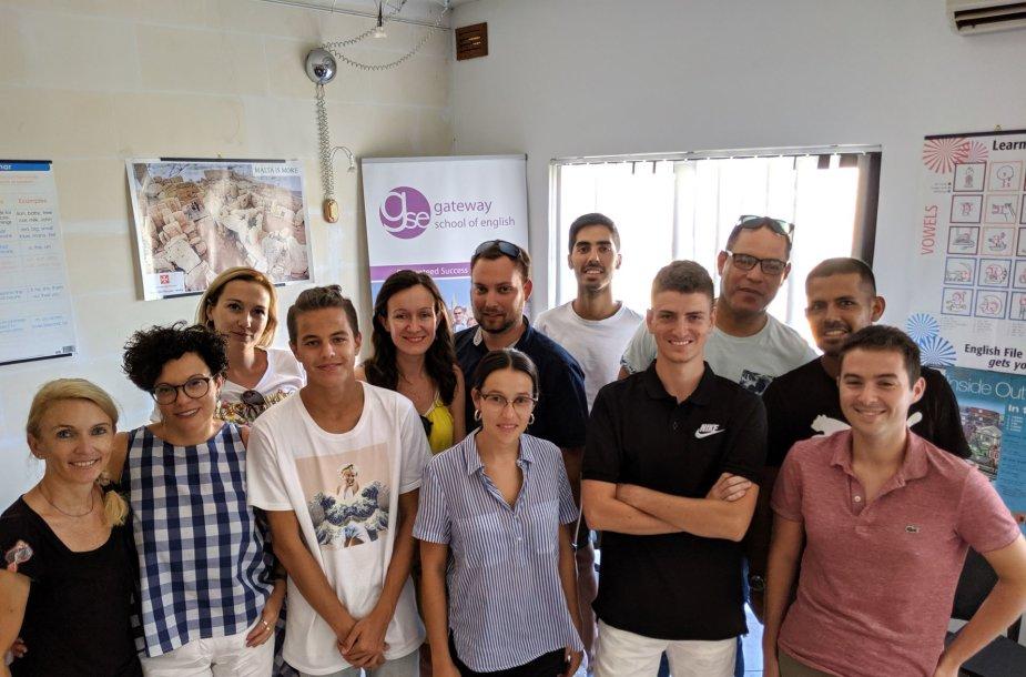 Anglų kalbos mokymasis Maltoje