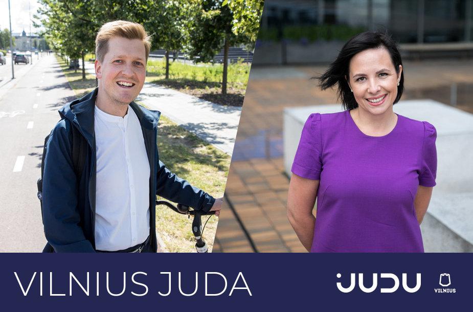 """Besidomintiems darnaus judumo temomis – tinklalaidė """"JUDU Vilnius"""""""