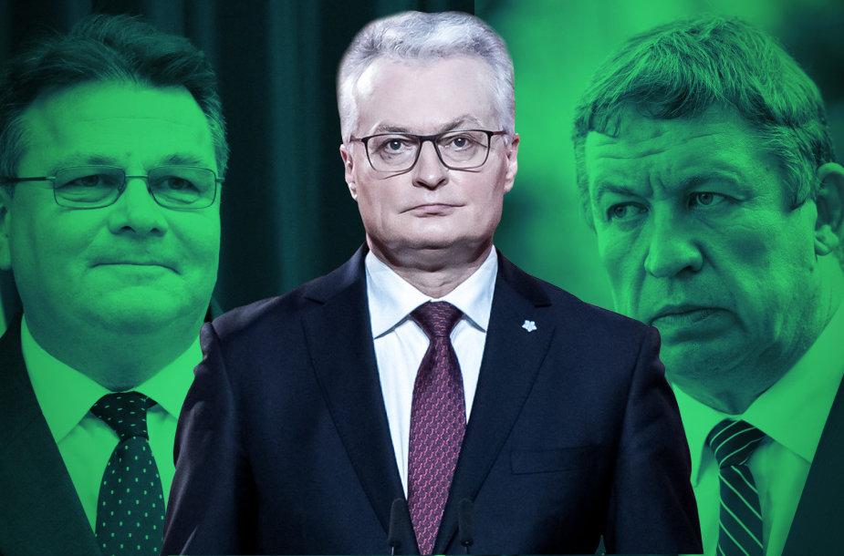 Aktualijos - Linkevičius, Nausėda, Karoblis