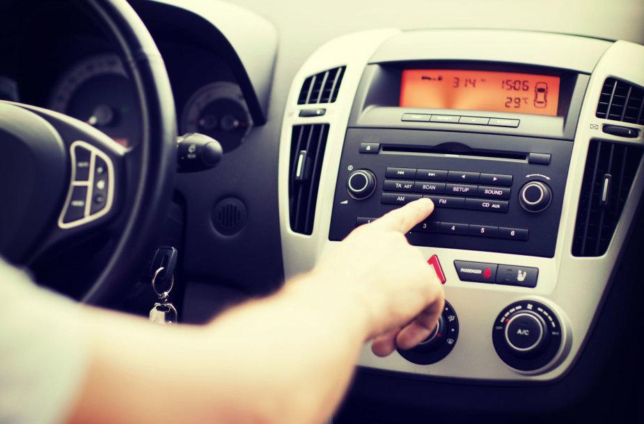 Automobilio radijo imtuvas
