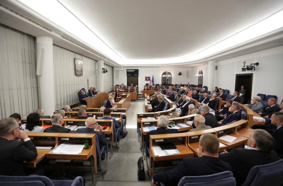 Lenkijos Senato posėdis