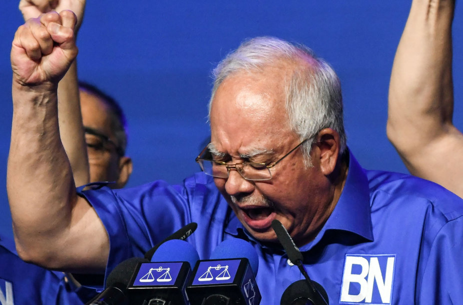 Malaizijos premjeras Najibas Razakas