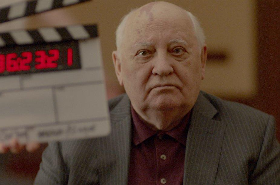 """Kadras iš filmo """"Herzogas / Gorbačiovas"""""""