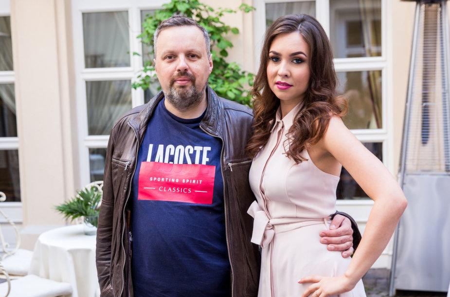 Andrius Užkalnis ir Fausta Marija Leščiauskaitė