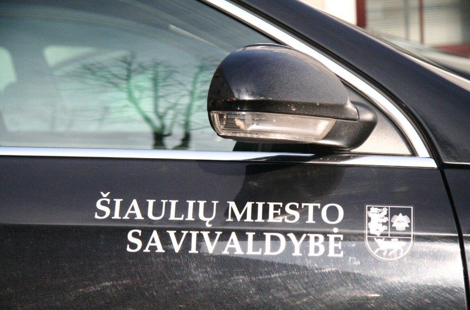Šiaulių miesto savivaldybės automobilis