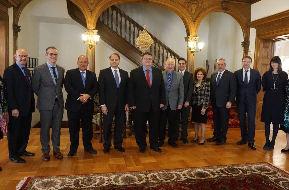 Vašingtone aptartas Lietuvos bendradarbiavimas su JAV ir pasaulio žydų organizacijomis
