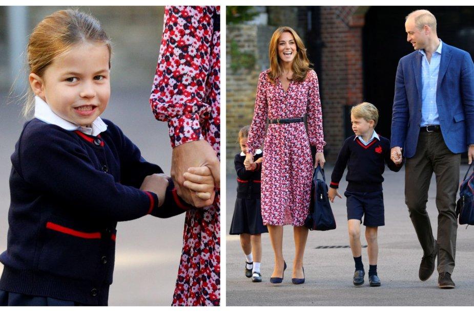 Princesė Charlotte pradėjo lankyti privačią mokyklą