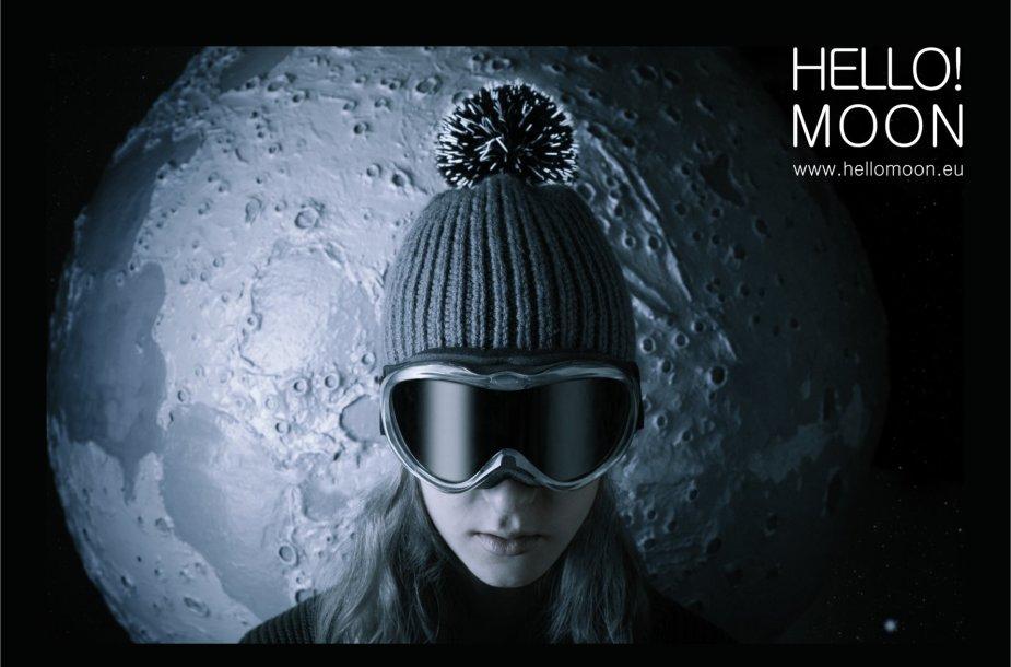"""""""Hello!Moon"""" žieminė kepurė"""