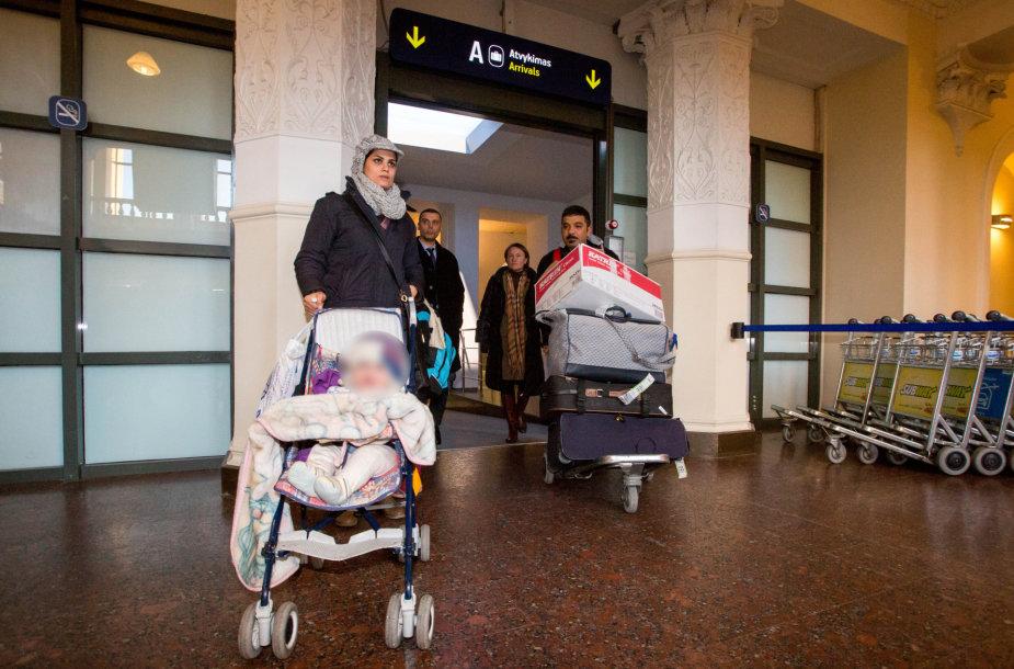 Irakiečių apbėgėlių šeima