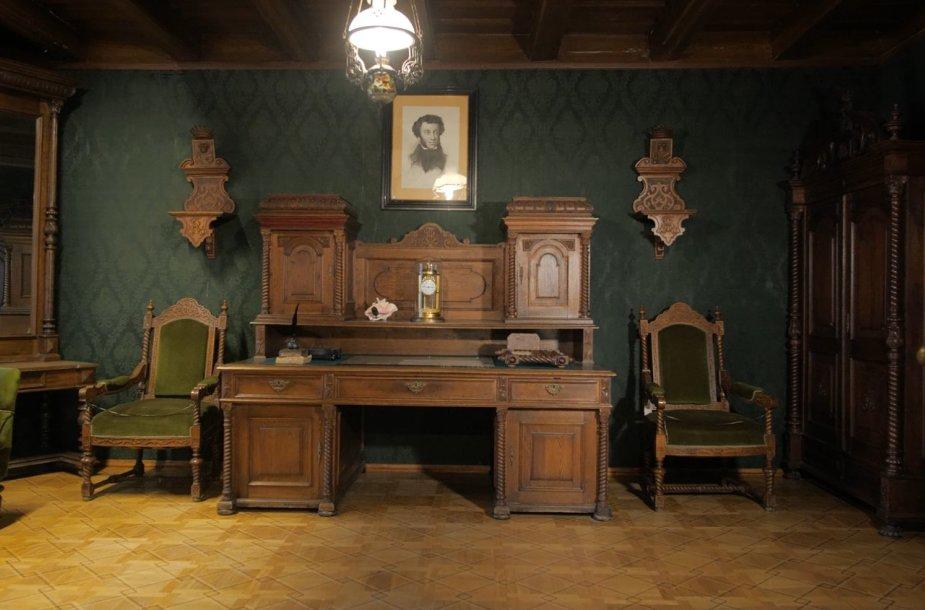 Pono kabinetas Markučių dvare