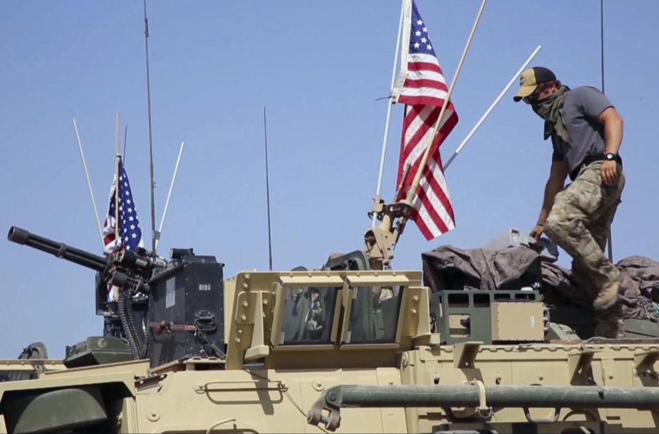 JAV pajėgos Sirijoje