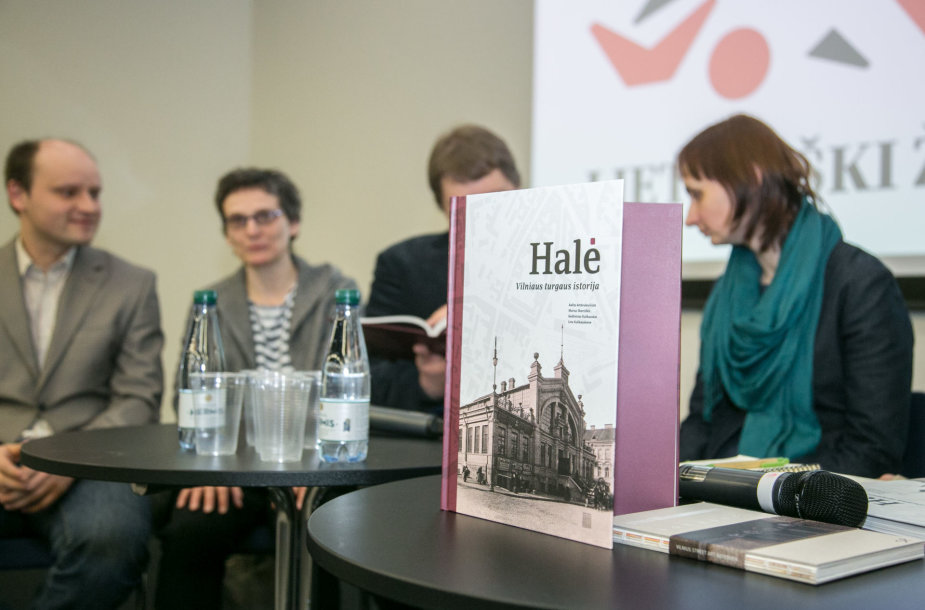 """Knygos  """"Halė. Vilniaus turgaus istorija"""" pristatymas"""