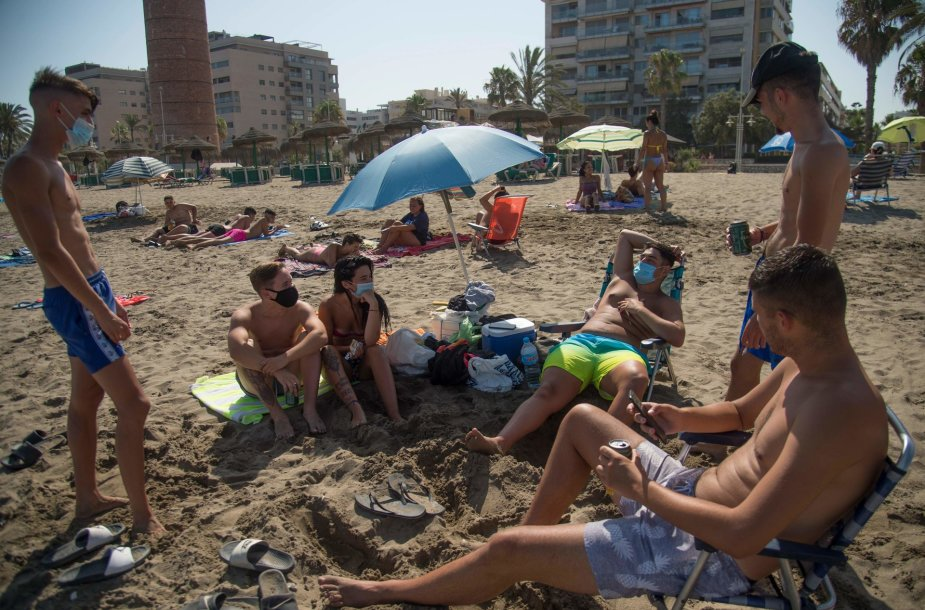 Paplūdimys Ispanijoje