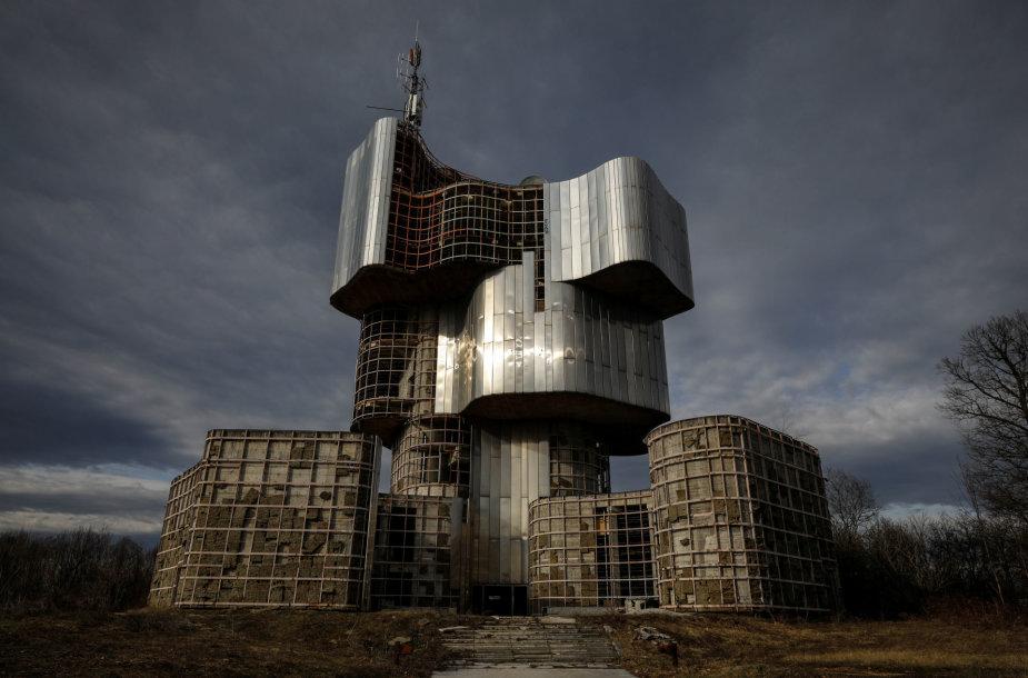 Brutalizmo architektūra buvusioje Jugoslavijoje