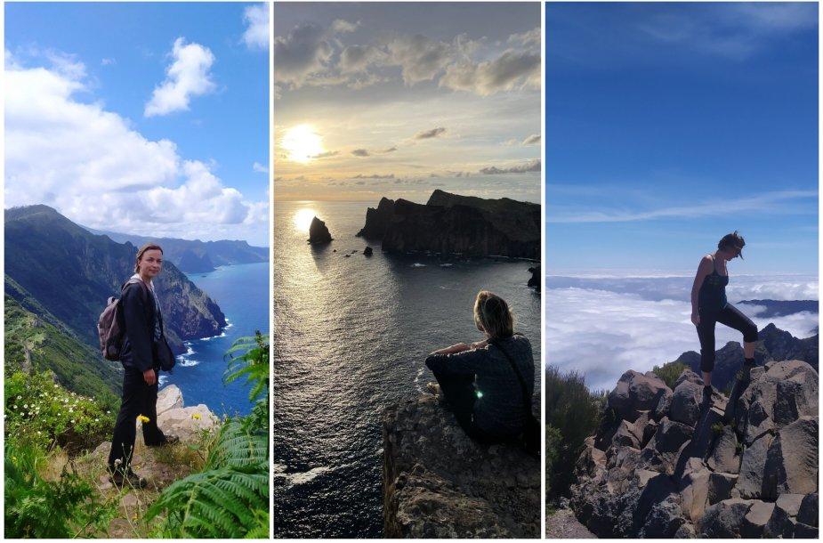Eglės žygiai Madeiroje