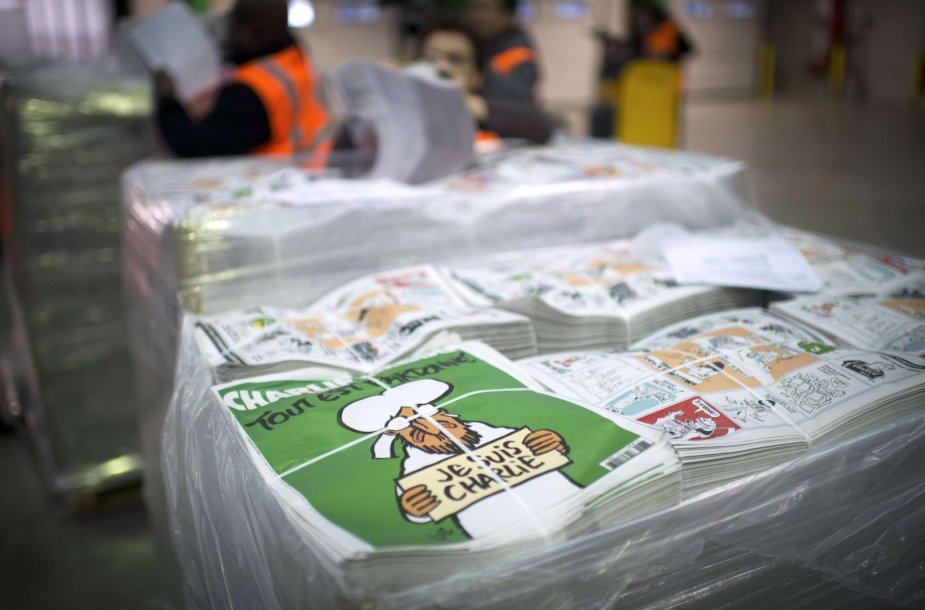"""Sausio 13-osios """"Charlie Hebdo"""" numeris"""