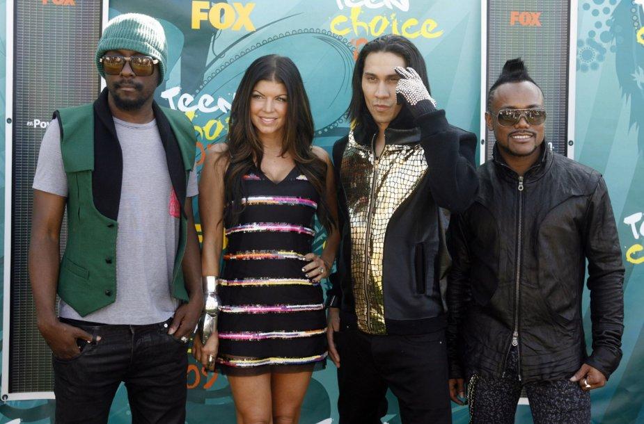 "Grupė ""Black Eyed Peas"" – will.i.am, Fergie, Taboo ir apl.de.ap"