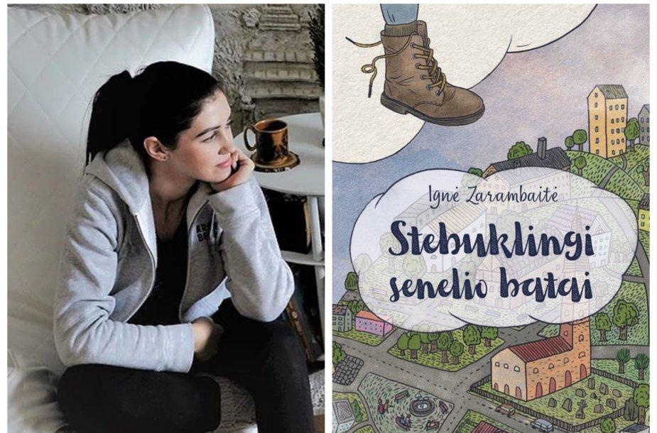 """Ignė Zarambaitė ir jos knyga """"Stebuklingi senelio batai"""""""