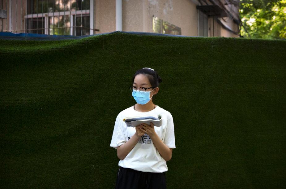 Pekine vėl neregistruojama naujų užsikrėtimų COVID-19 atvejų