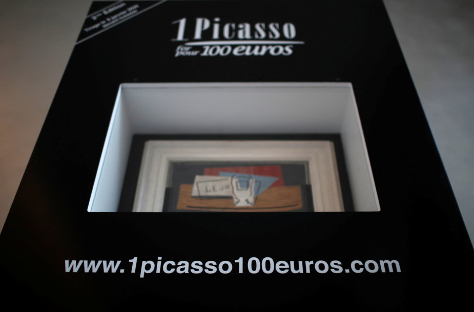 Tikimybė laimėti absento taurę ir laikraštį vaizduojančią P.Picasso drobę yra viena iš 200 000.