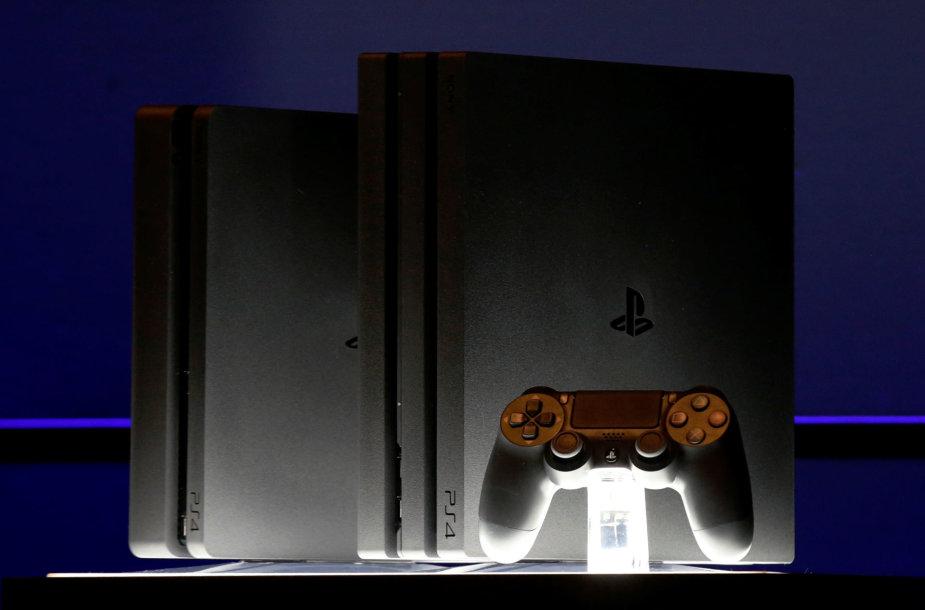 """Sony Playstation 4 Pro"" ir atnaujintas ""Sony Playstation 4"""